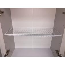 Полка/посудосушитель-600 эмаль белая