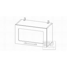 Шкаф Кельн верхний горизонтальный остекленный 600