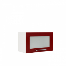 Шкаф Норд верхний горизонтальный стекло 600