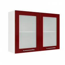 Шкаф Норд верхний стекло 1000