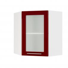 Шкаф Норд верхний угловой стекло 550