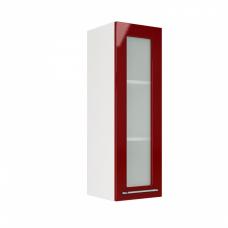 Шкаф Норд верхний стекло высокий 300