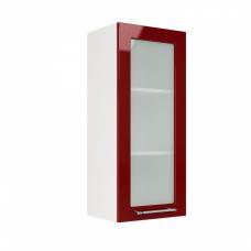 Шкаф Oli верхний стекло высокий 400