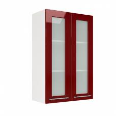 Шкаф Барселона верхний стекло высокий 600