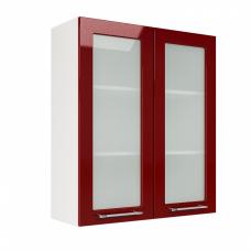 Шкаф Норд верхний стекло высокий 800