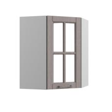 Шкаф Опера верхний угловой стекло 550