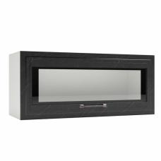 Шкаф Риволи верхний горизонтальный стекло 800