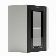Шкаф Риволи верхний угловой стекло 550