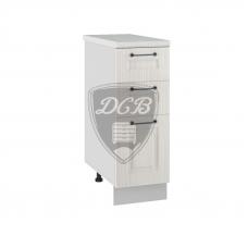 Шкаф Капри нижний 3 ящика 300