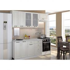 Кухня Карина белое дерево 2