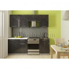 Кухня Oli черный 2,1м