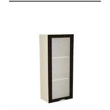 Шкаф Дина верхний пенал стекло 500