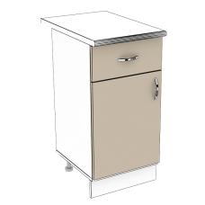 Шкаф Лира нижний 1 ящик 400