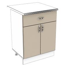 Шкаф Карина нижний 1 ящик 600