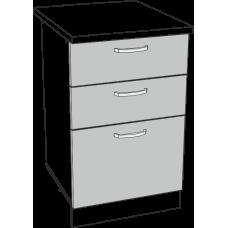 Шкаф Дина нижний 3 ящика 500