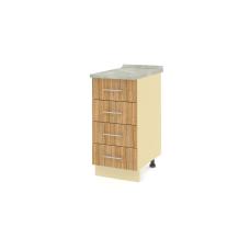 Шкаф Карина нижний 4 ящика 300