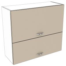 Шкаф Лира верхний горизонтальный двойной 800