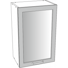Шкаф Дина верхний сушилка 1 фасад стекло 600