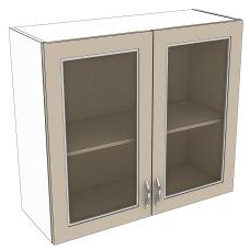 Шкаф Дина верхний стекло 800
