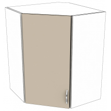 Шкаф Дина верхний угловой 550