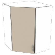 Шкаф Карина верхний угловой 600
