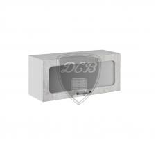 Шкаф Лофт верхний горизонтальный стекло 800
