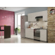 Кухня Лофт бетон белый 2,1м