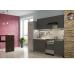Кухня Лофт бетон черный 2,1м