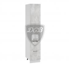 Шкаф Лофт верхний пенал с ящиками 400