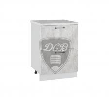 Шкаф Лофт нижний 2 больших ящика 600