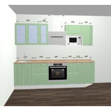 Кухня Ницца фисташка 2700мм
