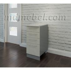Шкаф Виста нижний с 4 ящиками 400