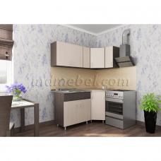 Кухня угловая Тоника 1.65 х 0.85