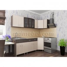 Кухня угловая Тоника 2.25 х 0.85