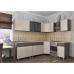 Кухня угловая 2.45м х 1.25м