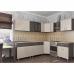 Кухня угловая ЛДСП большая 2.45м х 1.45м