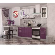 Кухня Oli c фотопечатью Лаванда 1.6м