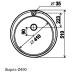 Мойка врезная Wellinox d-510 (0.8х180)