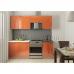 Кухня Олива МДФ с пленкой ПВХ 2,1м оранж