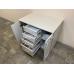Стол тумба 1000 жемчужный (мини кухонный гарнитур)