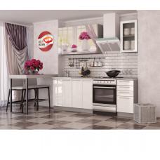 Кухня Oli c фотопечатью Розы 1.6м