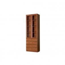 Шкаф книжный с большими ящиками Гарун - А204
