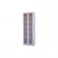 Шкаф книжный стеклянные двери Гарун - А224