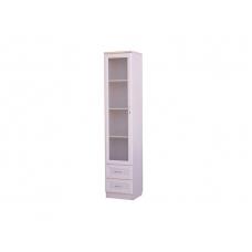 Офисный шкаф для книг узкий с ящиками Г - А220