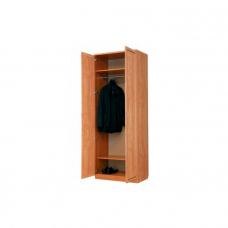 Офисный шкаф двустворчатый со штангой Г- А100