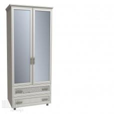 Шкаф платяной Viktory с ящиками и Зеркалом