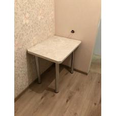 Стол обеденный на хром ногах