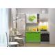 Кухня Oli с фотопечатью Яблоко- зеленый 1.6м