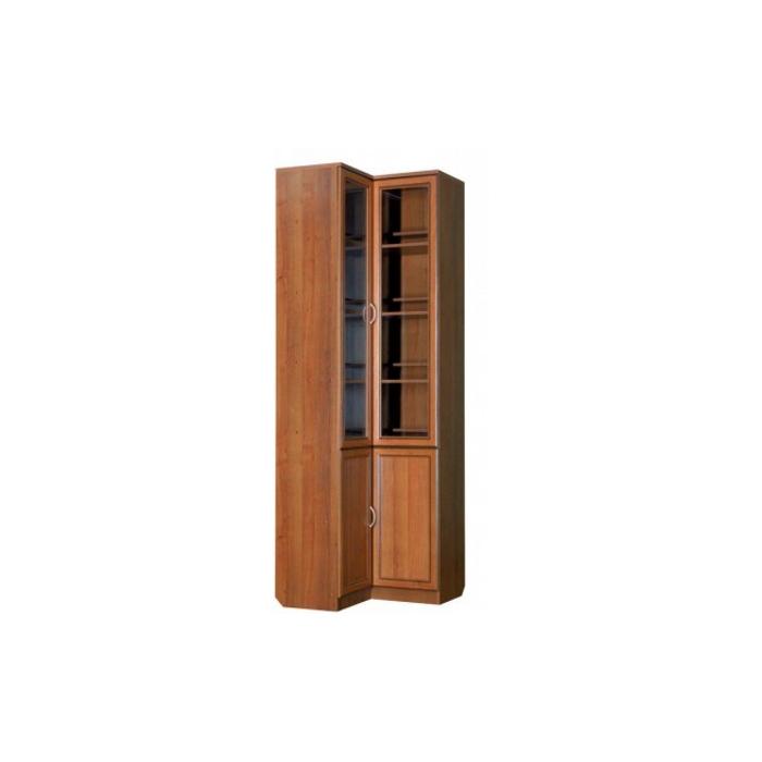 Купить недорого шкаф книжный угловой гарун мдф в спб от прои.
