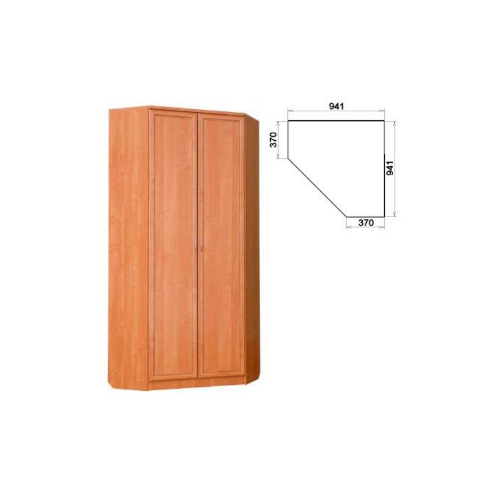 Купить недорого шкаф угловой двустворчатый гарун - а401 мдф .